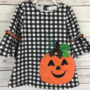 Emily Rose pumpkin Halloween top shirt